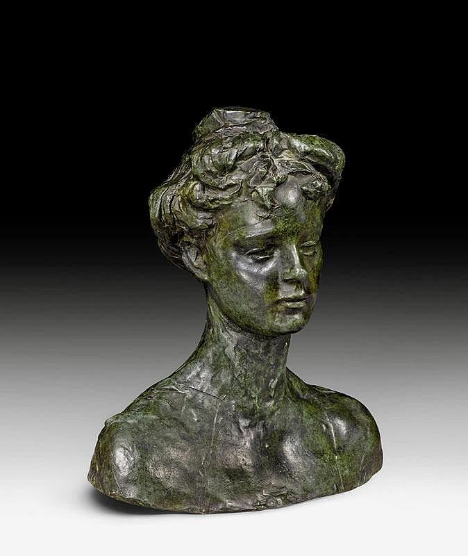 RODIN, AUGUSTE (Paris 1840 - 1917 Meudon) Helene