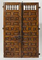 PAIR OF DOUBLE DOORS, probably Andalusia,