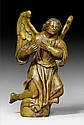 KNEELING ADORING ANGEL, Burgundy, late 17th