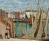 DURENNE, EUGENE ANTOINE(1860 Paris 1944)Le Port de