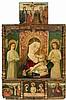 WOHL SIZILIEN, UM 1460-70 Altar zur privaten