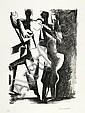 ZADKINE, OSSIP.(1890 - 1967).'La forêt humaine'.