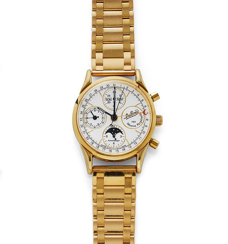 GENTLEMAN'S WRISTWATCH, AUTOMATIC, CHRONOGRAPH