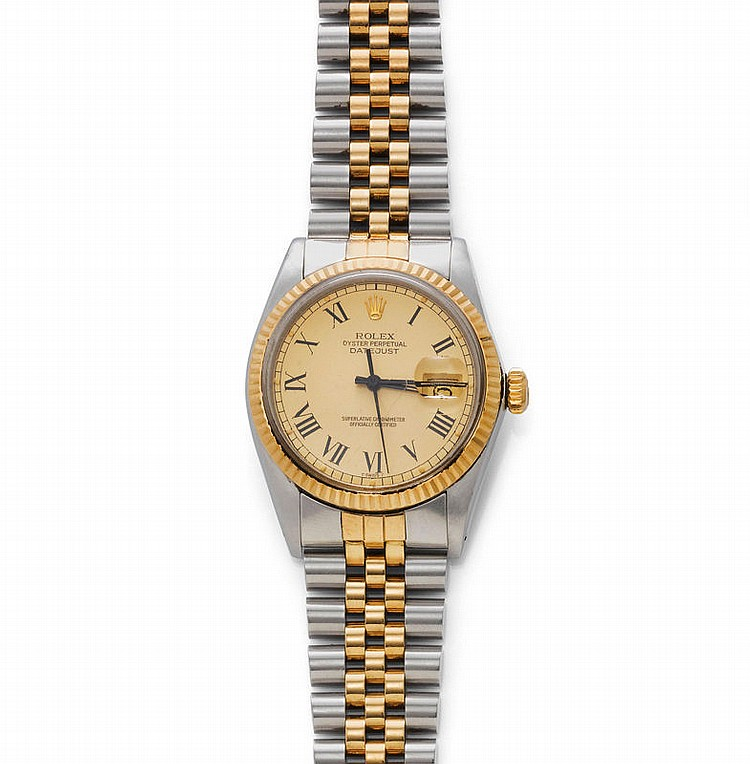 GENTLEMAN'S WRISTWATCH, ROLEX DATEJUST,