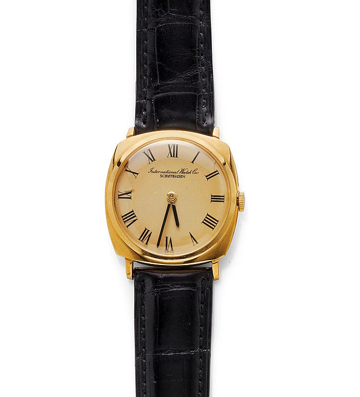 WRISTWATCH, IWC, 1960s.Yellow gold 750.Ref. 1218.