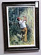 Lee Trevino Giclee on Canvas