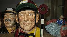 Large Royal Doulton character jug ' Jockey ' D6625