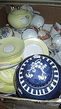 Spode Persian pattern part coffee set and a quanti