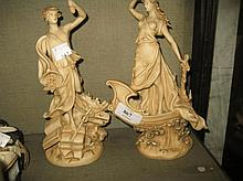 Pair of late 19th or early 20th Century Continenta