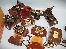 Kodak cine film camera together with a quantity of