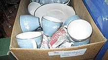Royal Doulton Reflections pattern part dinner and