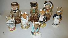 Four Royal Doulton Bunnykins figures, ' Dusty and