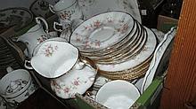 Paragon Victoriana Rose pattern tea service togeth