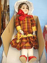 German doll, Princess, No. 1, having sleeping eyes