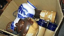 Quantity of various Royal Doulton harvest ware jug