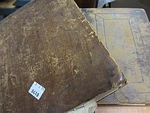 17th Century Breeches bible, re-bound, together with another small leather bound bible, 1679 (binding a/f)