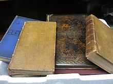 Two 18th Century volumes ' Goldsmiths Roman History ', 1764, one volume ' Josephus ' 1893, one volume ' Art and Song ', 1867, and two volumes ' The War Illustrated '