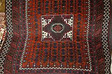 20th Century Afghan Belouch rug