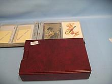 Collection of musical related cards and ephemera (some signed), housed in two albums