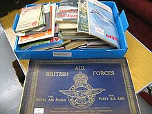 British Airforces booklet ' The Fleet Air Arm ' together with a large quantity of various other magazines, books etc, aviation and military related booklets
