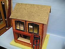 Simulated brick dolls house (a/f)