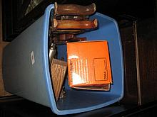 Large quantity of various woodworking tools