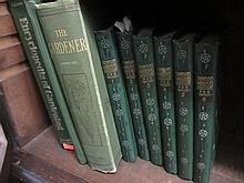 Six volumes, '  Thompsons Gardeners Assistant ', other various related books and bag containing a quantity of miscellaneous engravings, news magazines etc.