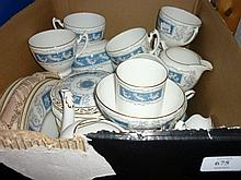 Coalport Revelry pattern dinner, tea and coffee service