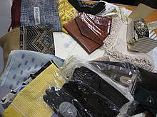 Quantity of miscellaneous table linen and various silk scarves etc.