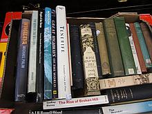 Miscellaneous books including travel and science related