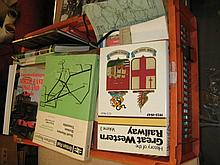 Collection of railway related books