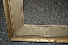 19th Century gilded oak picture frame