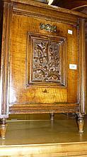 Victorian oak coal purdonium