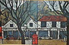 1970's Print, ' Hampstead ' by Ken Law and '