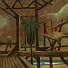 RICK AMOR born 1948 By The Sea 1988 oil on linen