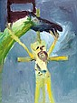 SIDNEY NOLAN, (1917-1992), Rider and Crucifix,