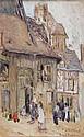 BESSIE DAVIDSON (1879-1965) Market Scene 1915