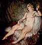 NORMAN LINDSAY (1879-1969) The Green Bracelet oil