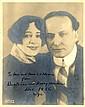 Houdini Photo & Letter