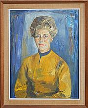 Judy Cassab (1920 -) - Portrait of Lady Strasser, 1964 80 x 65cm