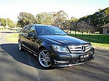 Mercedes Benz C250 Blue Efficiency Wagon with AMG Package - NSW REG: NBO 44E - Exp. 30/1/2015