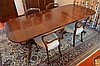 A Period Mahogany Twin Pedestal Dining Room Table (Both With Leaves) - W: 272cm (with leaves) D: 100cm