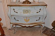 Continental Style Bombay Chest of Two Drawers -