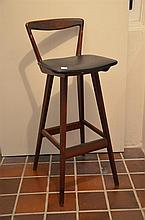 A Scandinavian Designer Bar Chair -