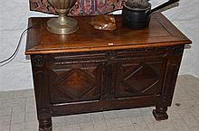 18th Century French Oak Coffer -