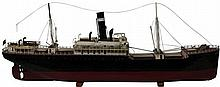 Lorna C'Ford Screw-Propeller Steamer Model Ship