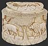 Ivory Carved African Casket