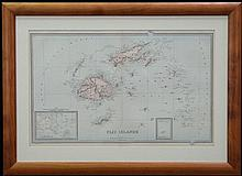 D. MacDonald c. 1888 - Map of 'Fiji Islands'