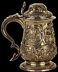 George III Silver Covered Tankard
