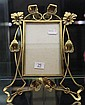 Art Nouveau Brass Floral Frame by DRGM